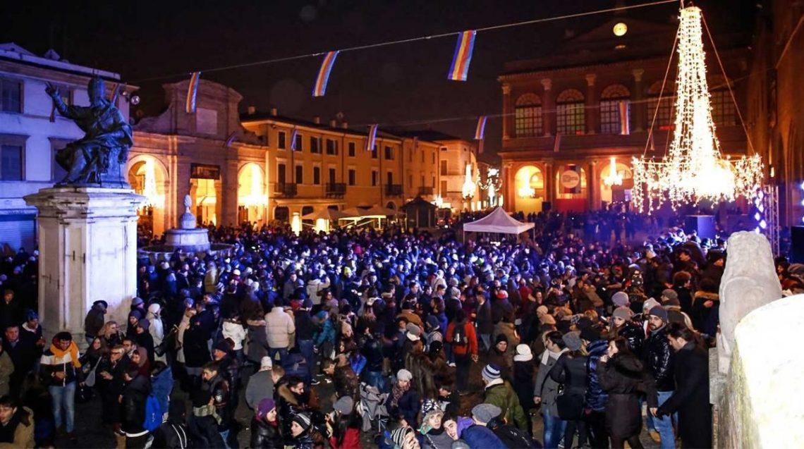 piazza cavour Rimini a Natale