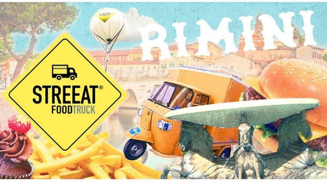 street food truck in rimini