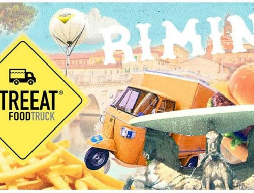 street food truck in rimini